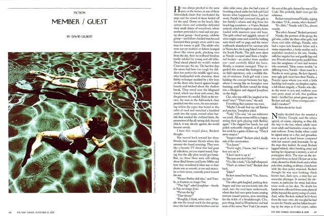 Poolscape #90 in The New Yorker