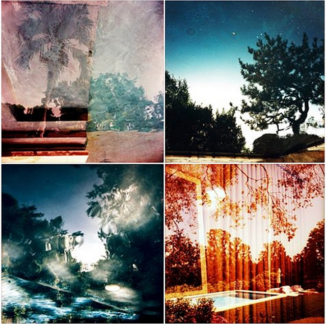 Clockwise from top left: Poolscape #80, Poolscape #16, Poolscape #43, Poolscape #110